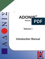 ADONIS381 - Introduction