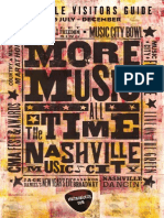 Nashville Visitors Guide July-December 2015
