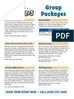 Packages Flyer