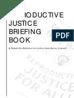 Reproductive Justice Briefing Book