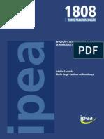 Evolução e Determinantes Da Taxa de Homicídios No Brasilt D_1808