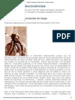Evolución y Neurociencias_ Jefes Cheyenne y conductas de riesgo
