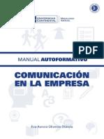 Manual Comunicacion en La Empresa