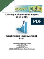 literacy collaborative report