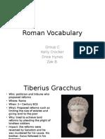 V2 Period 2 Group C Rome Vocab