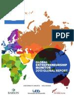 GEM 2013 Global Report