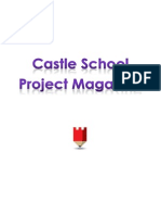 Castle School Project Magazine - A2 Students