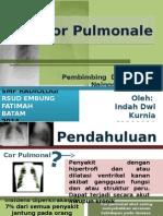 Cor Pulmonale Ppt