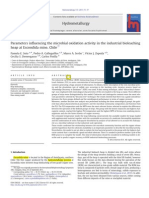 18. Parameters Influencing the Microbial Oxidation Activity in the Industrial Bioleaching