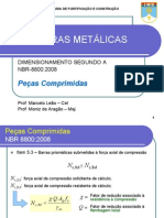 PEÇAS COMPRIMIDAS Estruturas Metalicas 2013 5