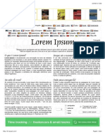 The Lorem Ipsum Compact
