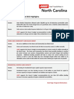 AARP 2015 Senate Budget Highlights