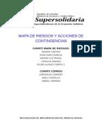 Mapa de Riesgo Supersolidaria