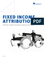 Fixed Income Attribution Whitepaper