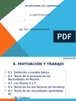 C-8 La Motivación y el Trabajo.ppt