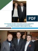 """Lanzamiento del libro """"Principios rectores y garantías fundamentales"""