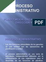 Planificacion, Organizacion, Direccion y Control