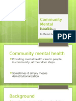 Dr. Manish Kumarcommunity mental health.ppt