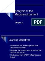 Analysis of the Macro Environment