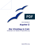 OpenOffice Calc - Handbuch - Kapitel 1