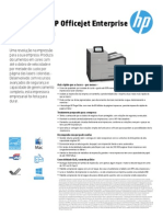Datasheet HP Officejet Enterprise x555