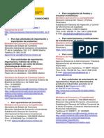 Organismos Competentes Sanciones Internacionales