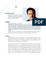Ramalinga Raju Profile