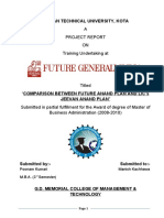 Report Punam---The Introduction of Insurance Sector