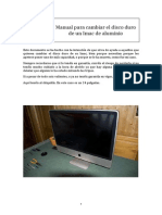 Manual Para Cambiar Hd Imac