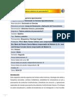 DCA-721 Tópicos selectos de poscosecha II
