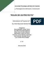Roles de Un Proyecto
