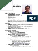 Mariano Andrés Loboda CV 2015