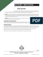 Pelco 5100 Installation Manual