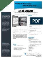 United Security CVD2020 Data Sheet