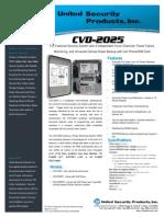 United Security CVD-2025 Data Sheet