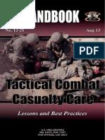 Tccc Handbook Fall 2013