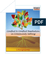 Conflict and Conflict Resolutionn in Community Settings (Part I and II)