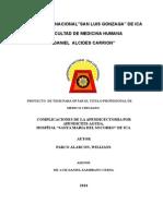 COMPLICACION DE LA APENDICECTOMIA POR APENDICITIS AGUDA.doc