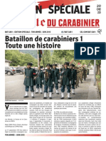 Gazette du Carabinier Edition Spéciale