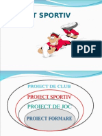 Proiect sportiv