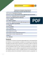 DCA-727 Inocuidad química de alimentos