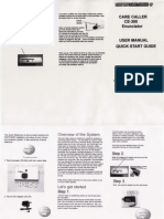 United Security CE-300 User Manual