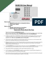 United Security EM900WA User Manual