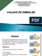 Presentacion PDF Unidad III Presas de Embalse - 2