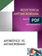 Resistencia Antimicrobiana Farma 2013