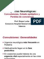Urgencias Neurológicas - Convulsiones, Estado Epiléptico y Pérdida de Conciencia