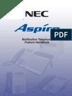 NEC Aspire Multi-Button User Guide