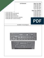 blaupunkt opel car 300 manual compact cassette radio rh scribd com