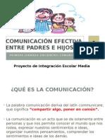 Comunicación Efectiva Entre Padres e Hijos Taller