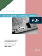 Sociología de Las Desigualdades